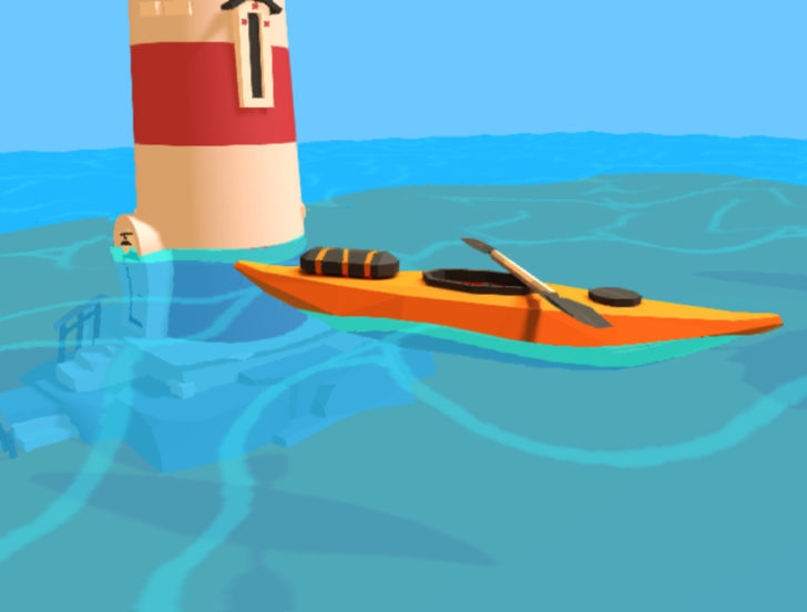 Creating toon water for the web – Gamedev js